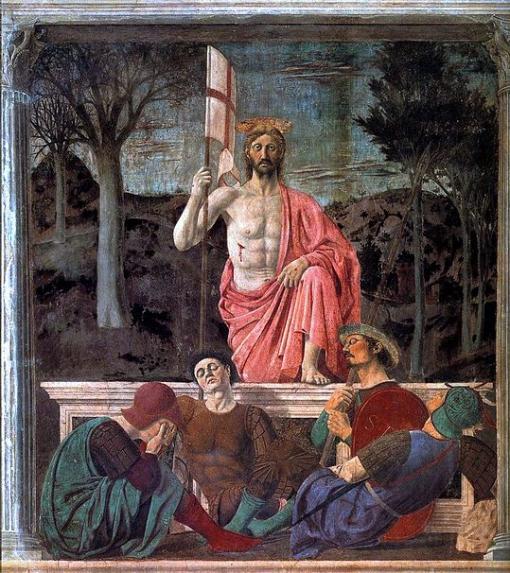 Risurrezione. Piero della Francesca. S. XV. Sansepolcro